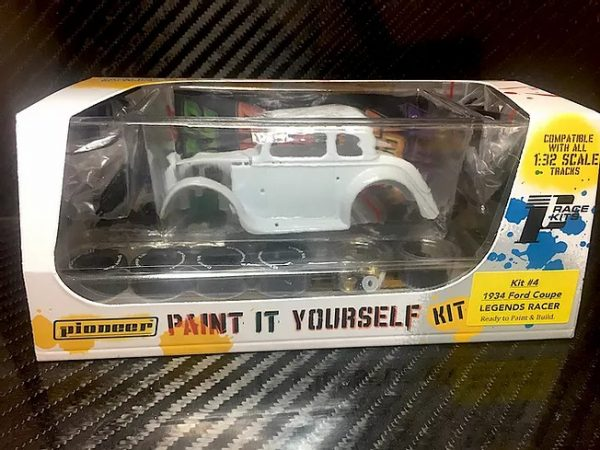 Pioneer '34 Ford Coupe Legends Racer 'Paint It Yourself' Kit - KIT#4