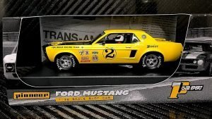 Pioneer '68 Ford Mustang Notchback Trans Am – Yellow #2 – John Atwell P069