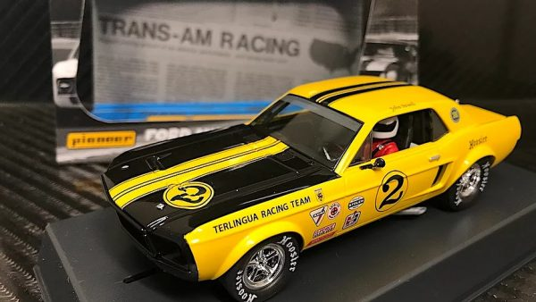 Pioneer '68 Ford Mustang Notchback Trans Am - Yellow #2 - John Atwell P069