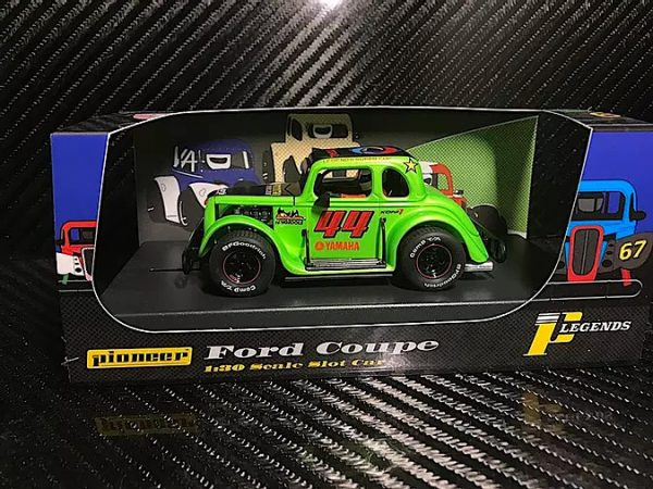 Pioneer '34 Ford Coupe Legends Racer - Green #44 P082