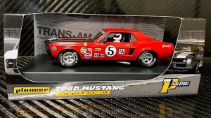 Pioneer '68 Ford Mustang Notchback Trans Am – Red #5 – Jim West P112