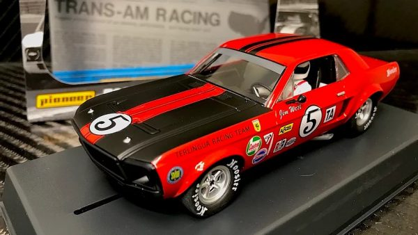 Pioneer '68 Ford Mustang Notchback Trans Am - Red #5 - Jim West P112