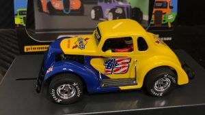 Pioneer '37 Dodge Coupe Legends Racer Sunoco Yellow-Blue #15 P130